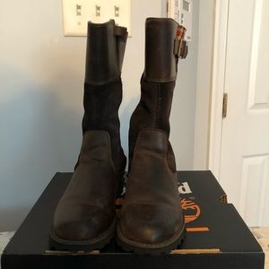 Girls tall Timberland boots